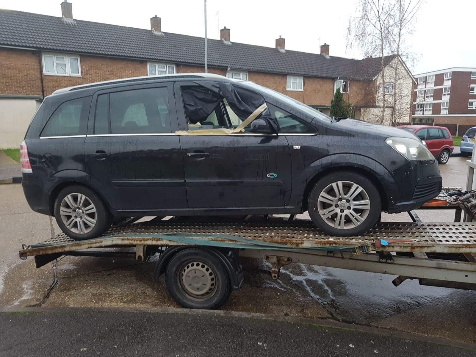scrap car vauxhall